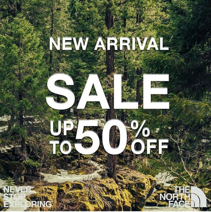 The North Face Promo New Brand Launching di iLotte.com Diskon Hingga 60%!