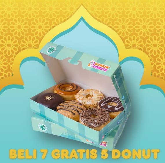 Dunkin Donuts Promo Spesial Ramadan Hemat, Beli 7 GRATIS 5