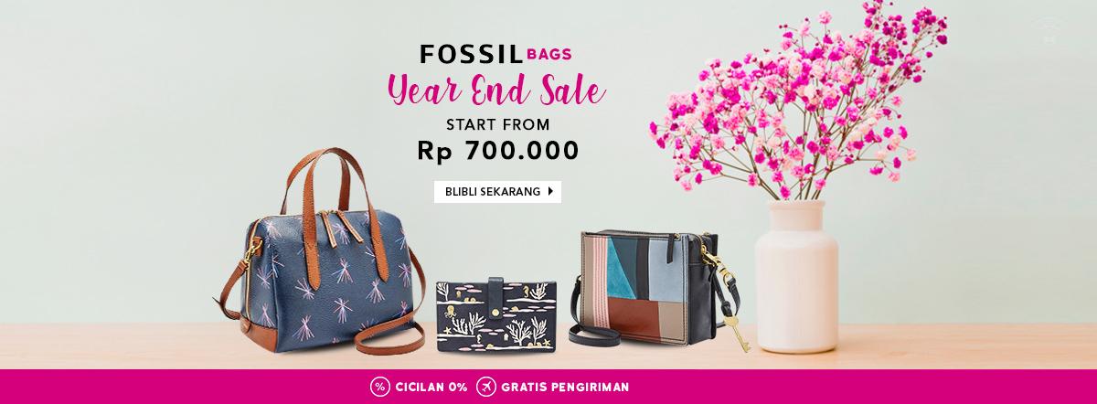 Blibli Promo Fossil Bags Year End Sale, Harga Mulai dari Rp 700 Ribu