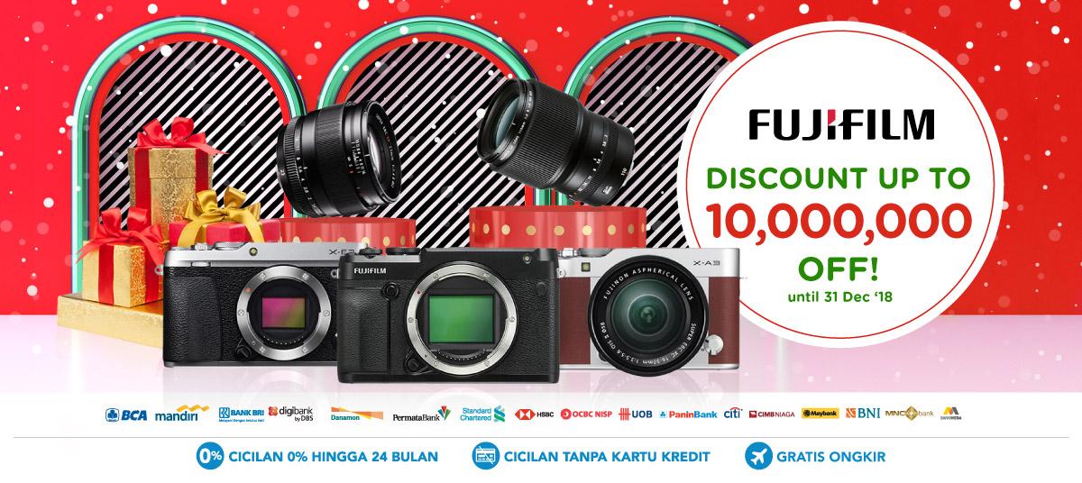 Blibli Promo Fujifilm Best Deal, Diskon Hingga Rp 10 Juta