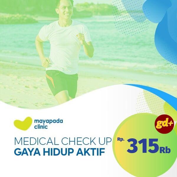 Promo Mayapada Clinic Spesial GD+, MCU Gaya Hidup Aktif Rp 315.000