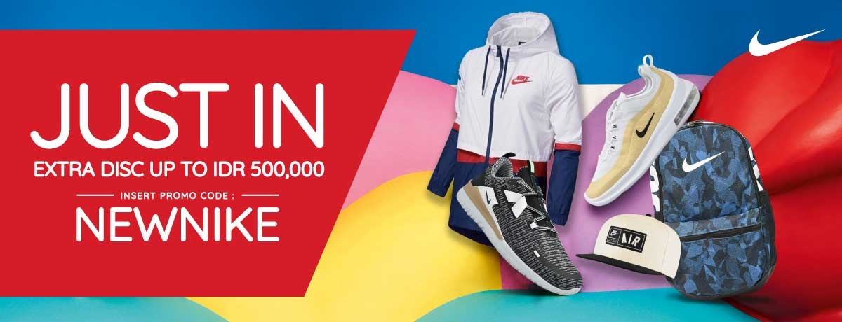 Blibli Promo Nike New Arrival, Ekstra Diskon Hingga Rp 500.000