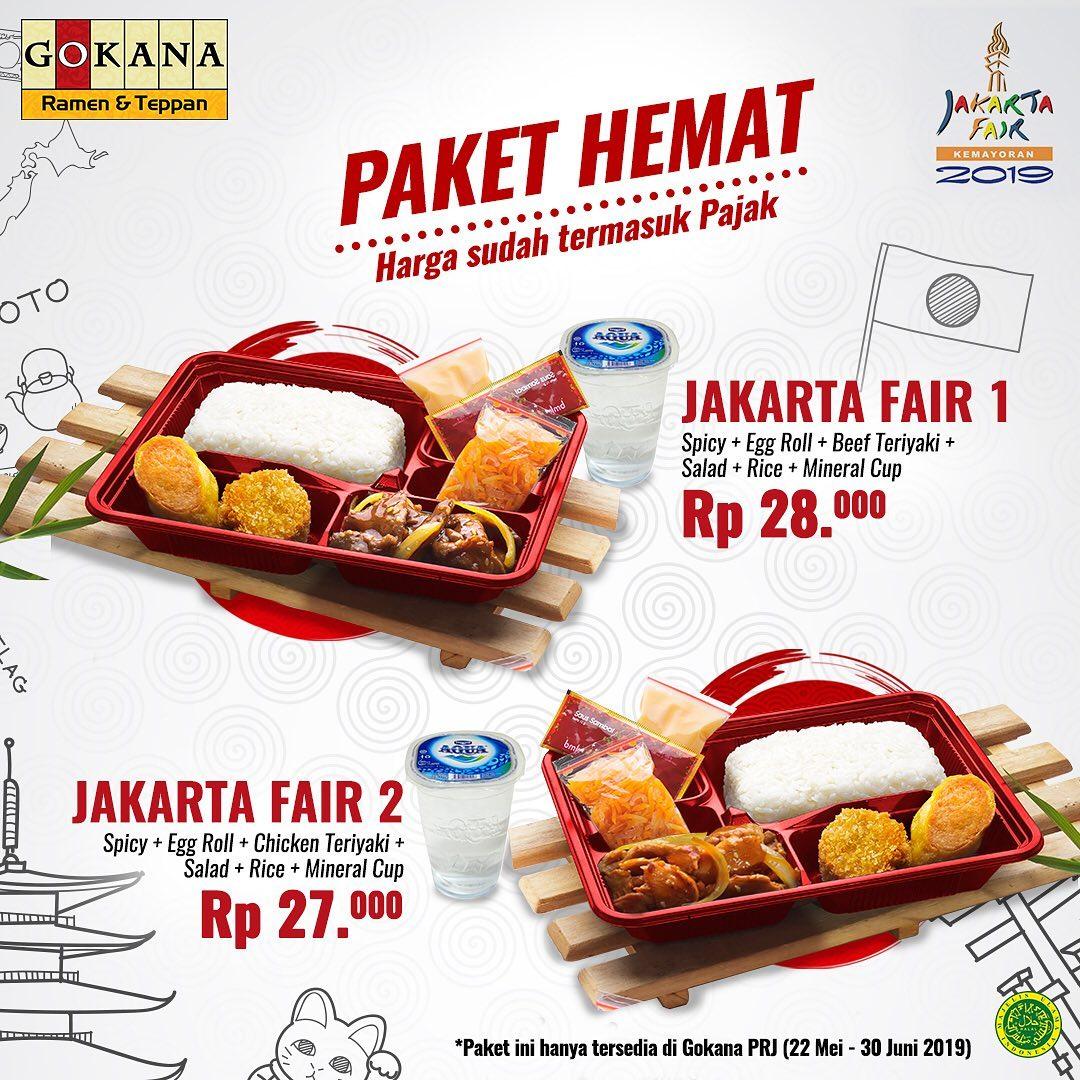 Gokana Ramen & Teppan Promo Jakarta Fair, Menu Pilihan Mulai Rp. 27 Ribuan