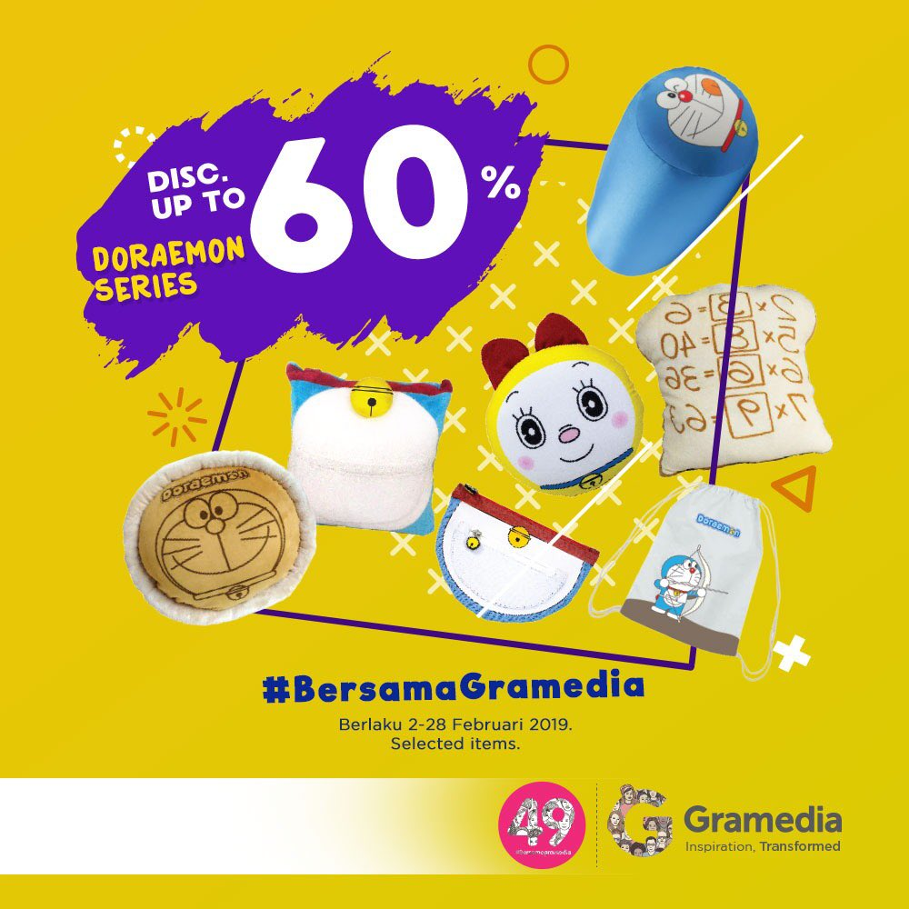 Gramedia Promo Heboh DIskon Hingga 60% Doraemon Series