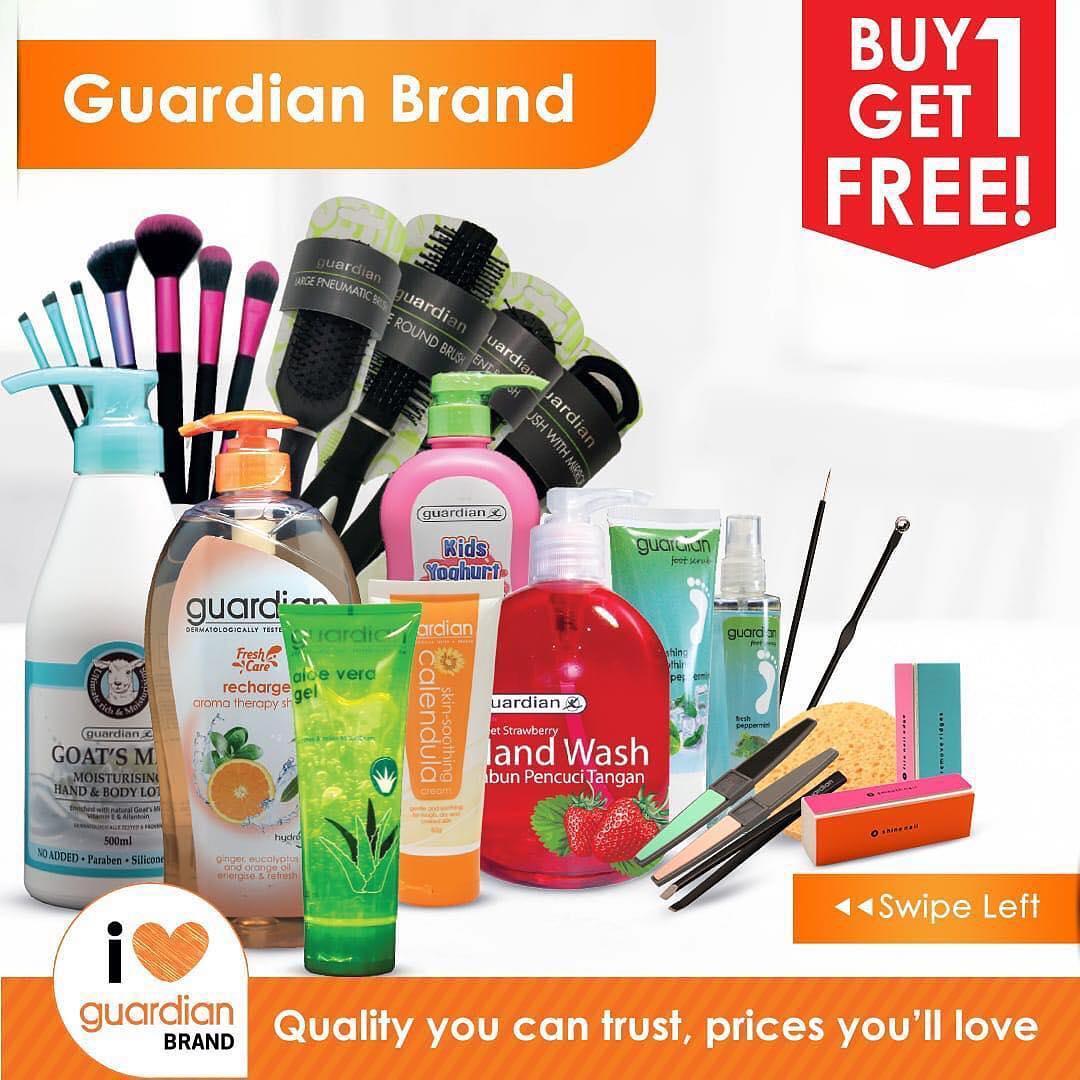 Katalog Promo Guardian Private Brand, Beli 1 Gratis 1
