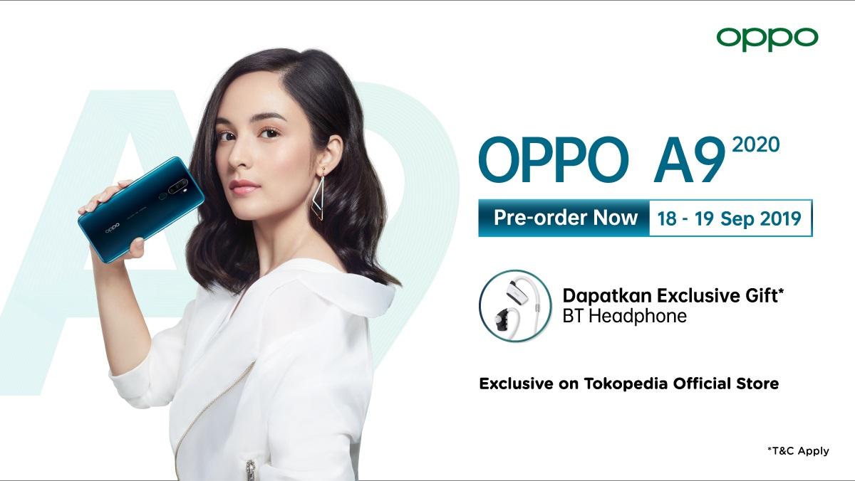 Tokopedia Promo OPPO A9 2020, Pre Order Sekarang & Dapatkan Exclusive Gift