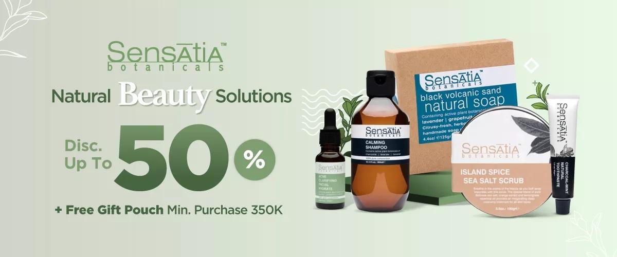 JD.ID Promo Sensatia Botanica, Diskon hingga 50%