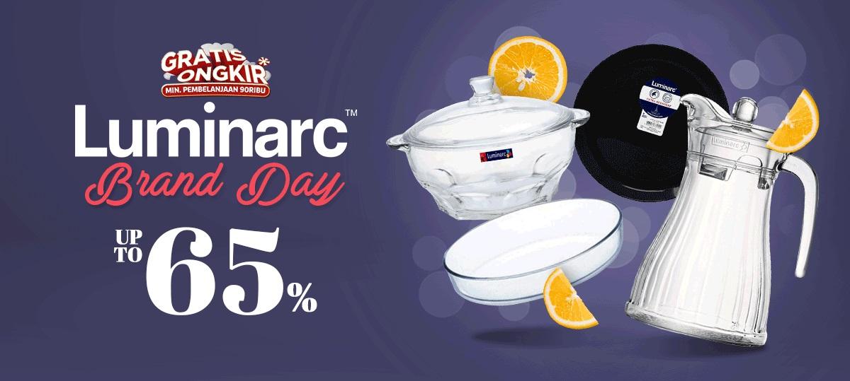 JD ID Promo Luminarc Brand Day, Diskon hingga 65%
