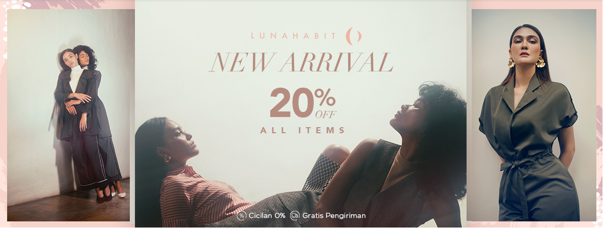 Blibli Luna Habit DISKON 20% All Items
