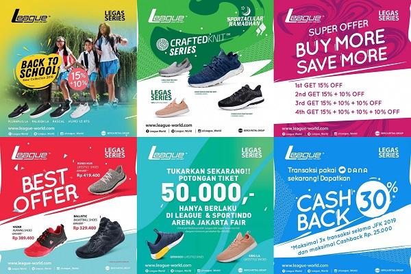 League Shoes Promo Jakarta Fair, Gebyar Diskon Dan Harga Spesial
