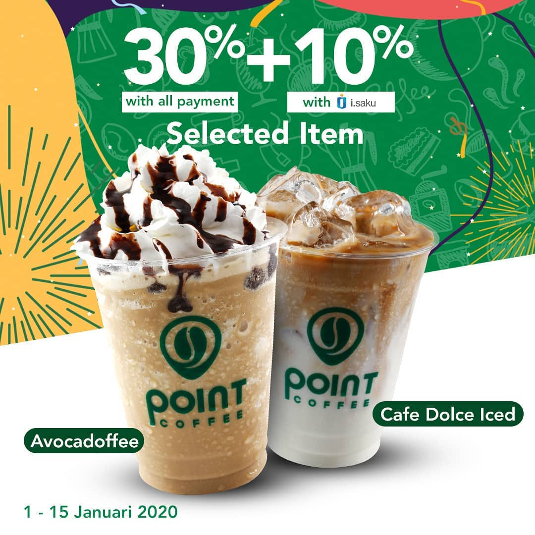 Indomaret Promo Point Coffee Diskon 30 Diskon 10