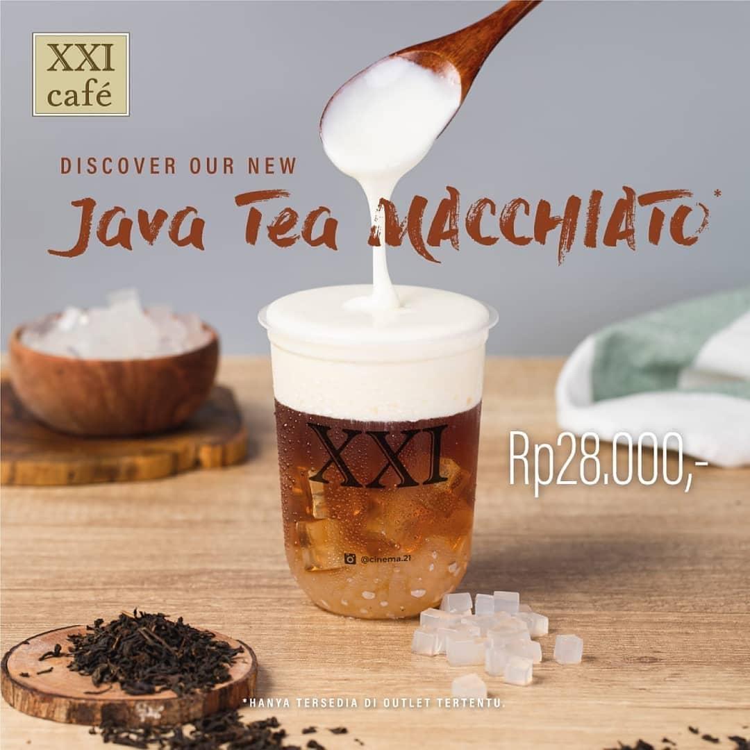 Cinema Xxi Promo Menu Minuman Terbaru Beli Java Tea Macchiato