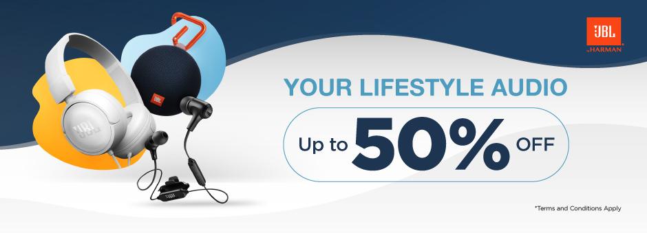 Tokopedia Promo JBL Official Store, Diskon Spesial Hingga 50%