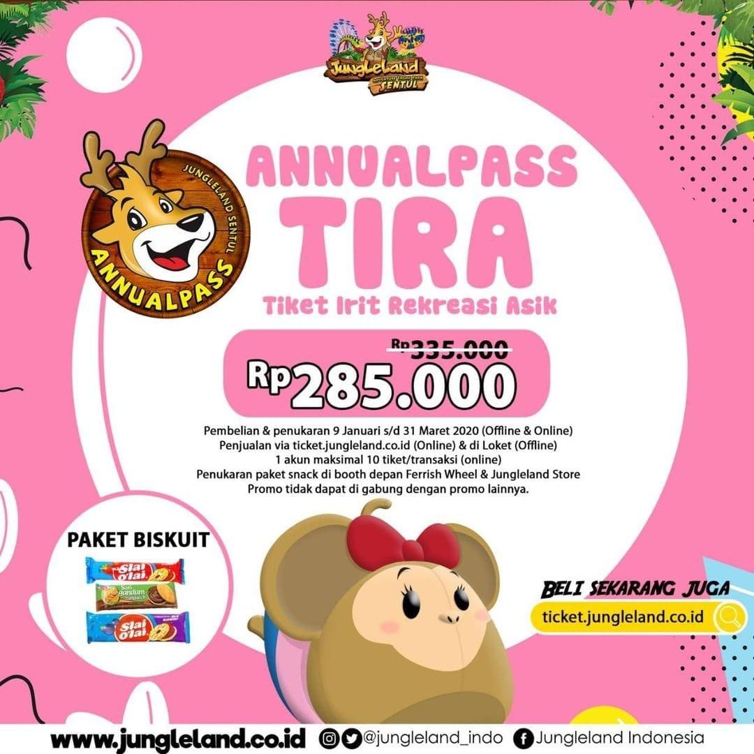 Jungleland Promo Spesial Annual Pass Awal Tahun, Ini Dia Harganya!