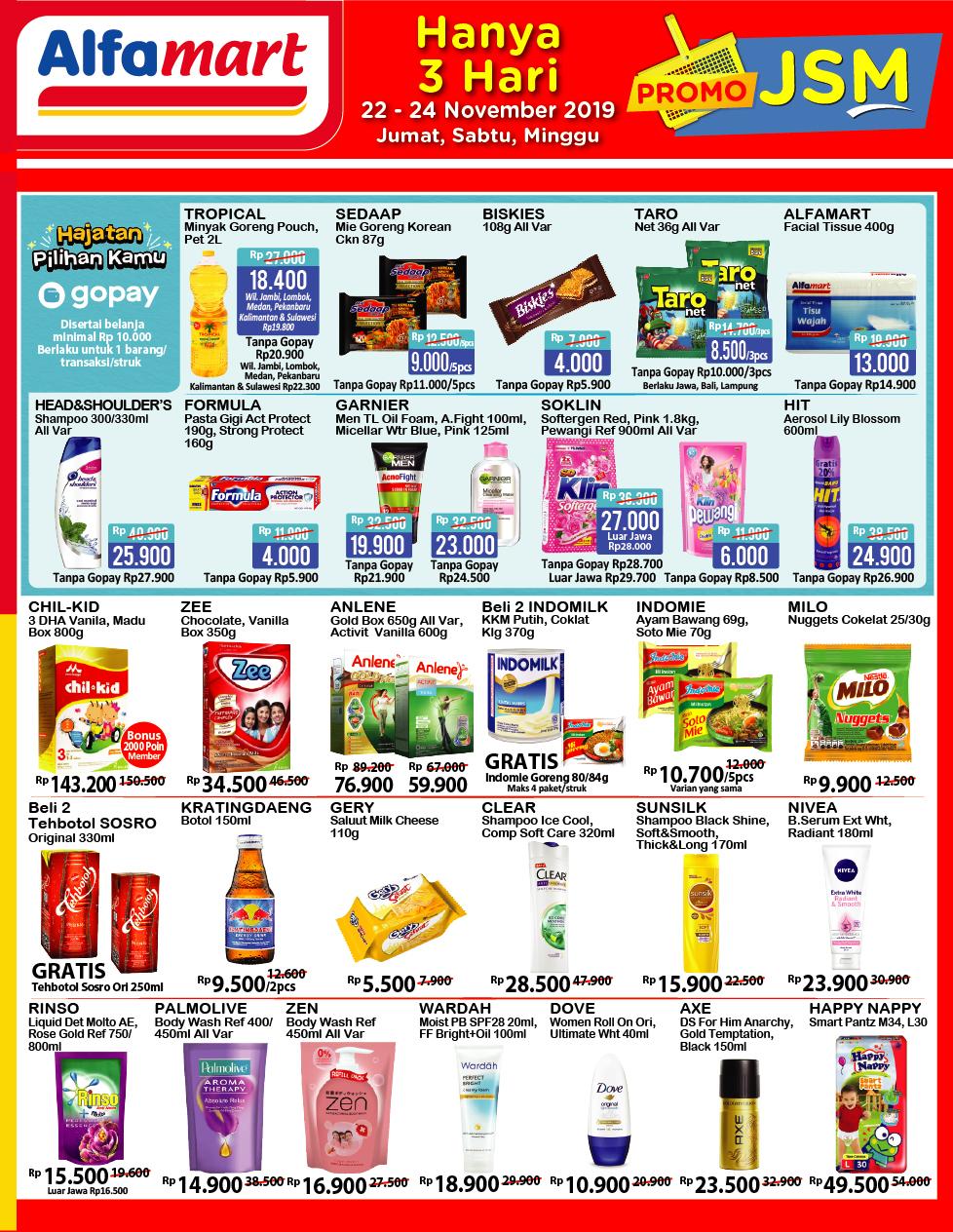 Katalog Promo Jsm Alfamart Periode 22 24 November 2019