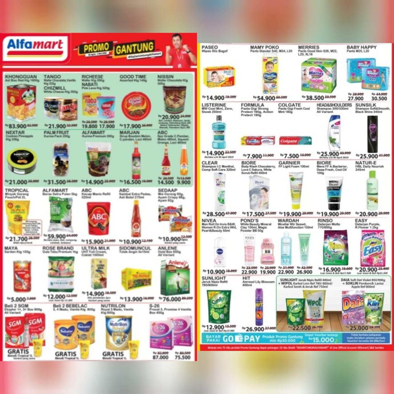 Katalog Promo JSM Alfamart Periode 24 April - 2 Mei 2019