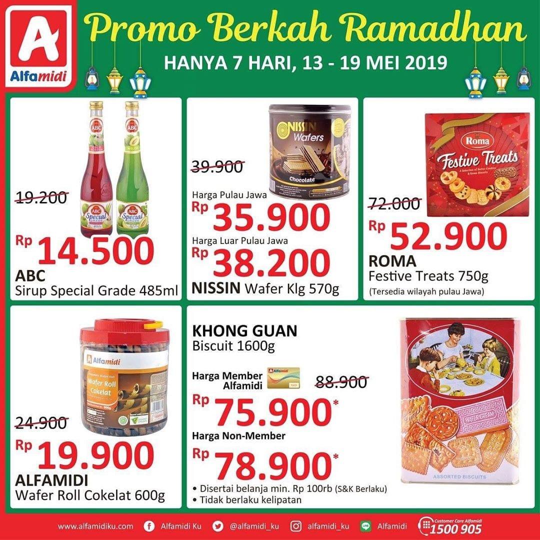 Katalog Promo Berkah Ramadhan Alfamidi Periode 13-19 Mei 2019