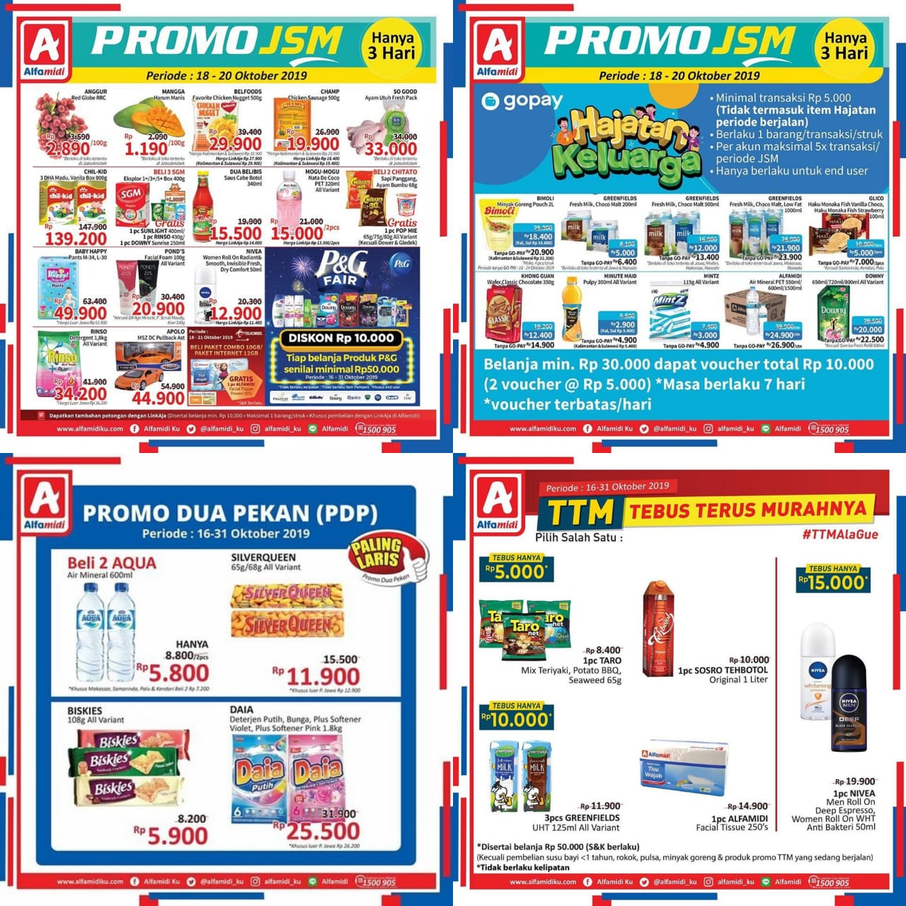 Katalog Promo JSM Alfamidi Periode 18-20 Oktober 2019