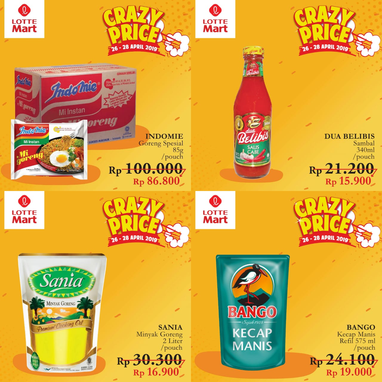Katalog Promo Spesial GD+ Lottemart Periode 26-28 April 2019
