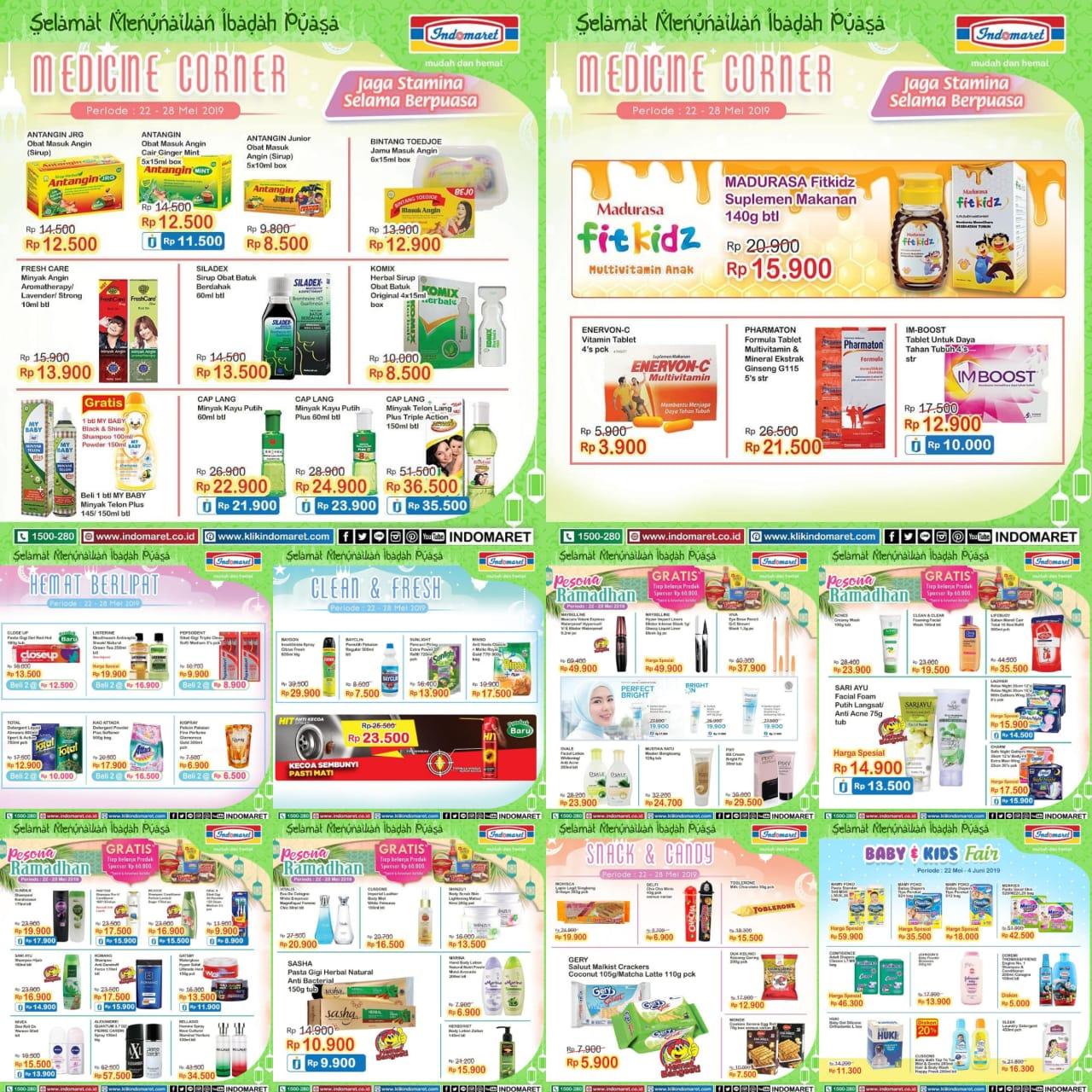 Katalog Promo Belanja Hemat Ramadhan Indomaret Periode 22-28 Mei 2019