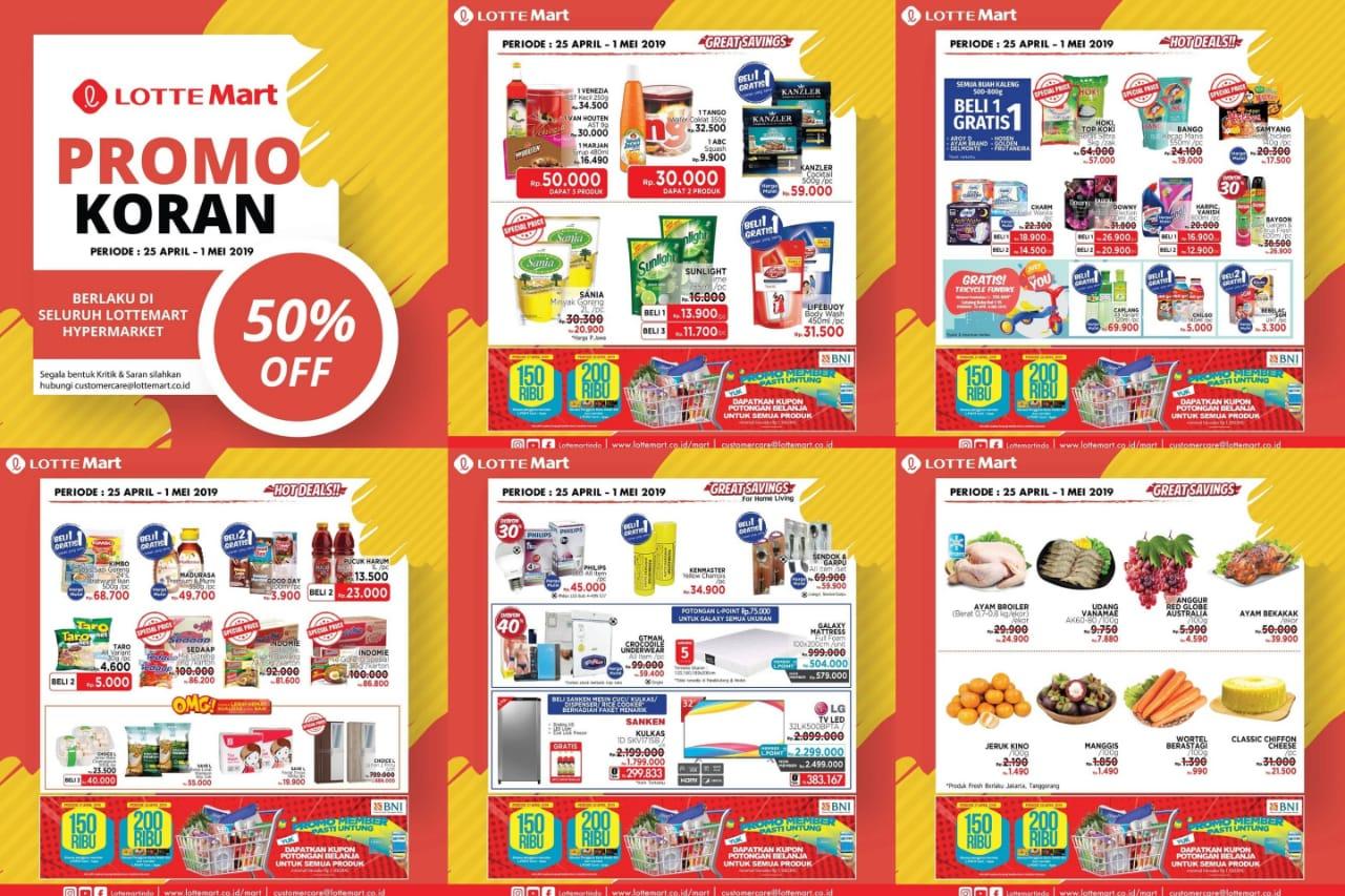 Katalog Promo JSM Lottemart Periode 25 April - 1 Mei 2019