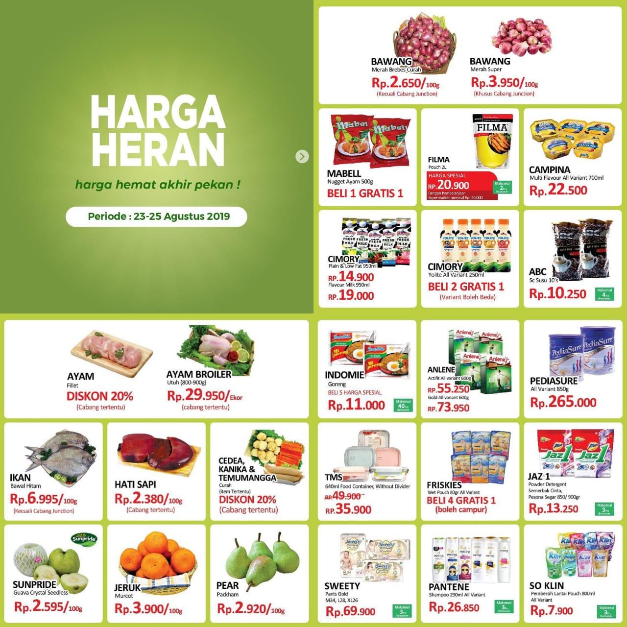 Katalog Promo JSM Toserba Yogya Periode 23-25 Agustus 2019