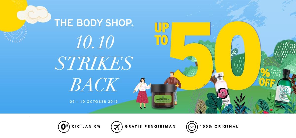 Blibli Promo The Body Shop, Steal The Deal Diskon hingga 50%