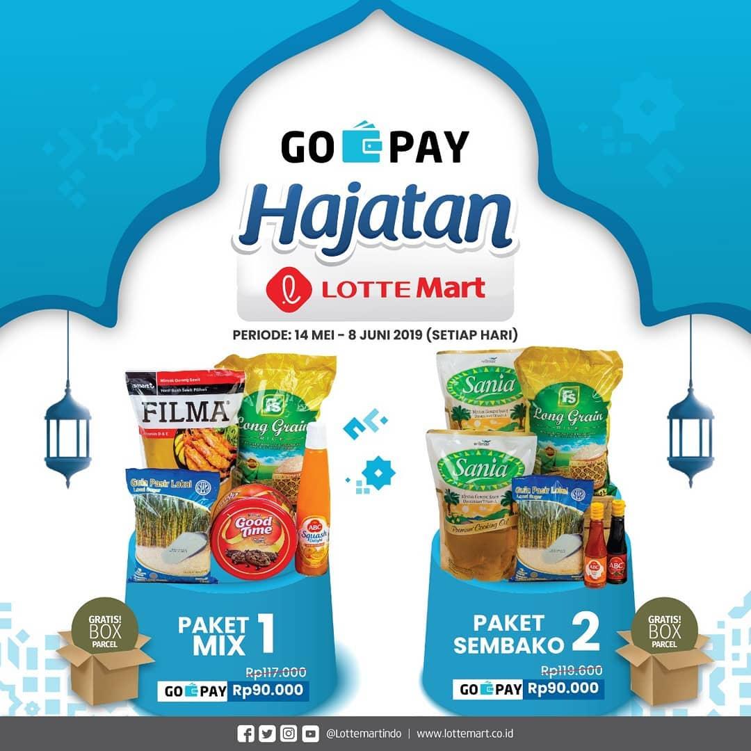 Lottemart Promo Gopay Hajatan, Harga Spesial Hanya Rp. 90.000!
