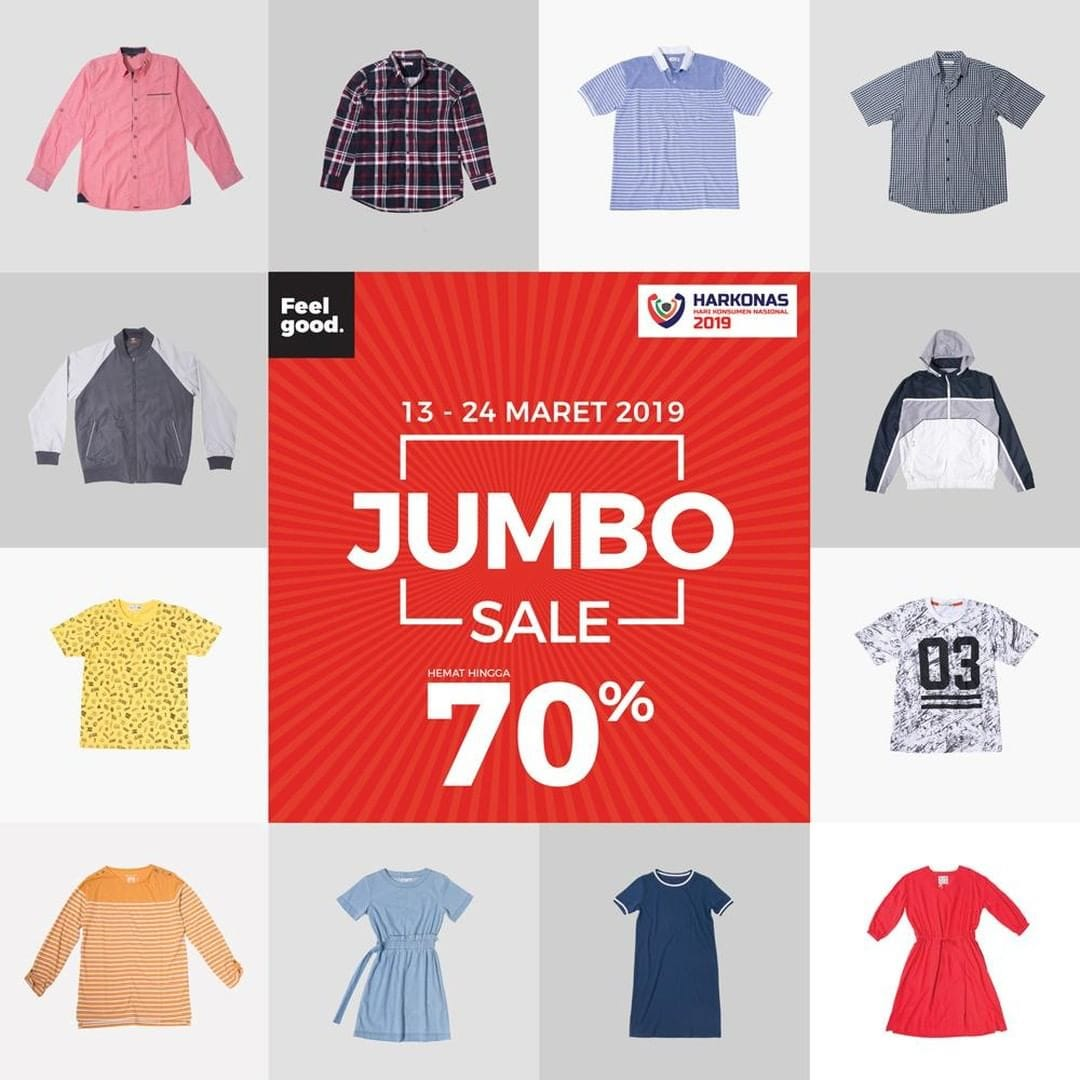 Matahari Department Store Promo JUMBO SALE, Belanja Hemat Diskon Hingga 70%!!!