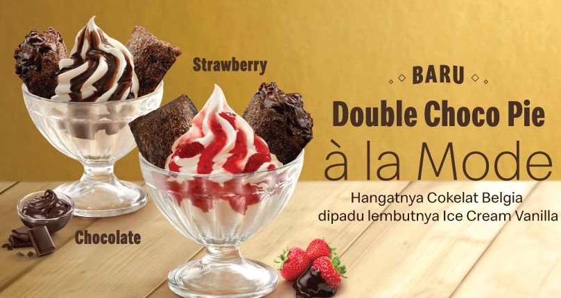 McDonalds Promo Menu Terbaru Double Choco Pie Ala Mode, Ini Dia Harganya