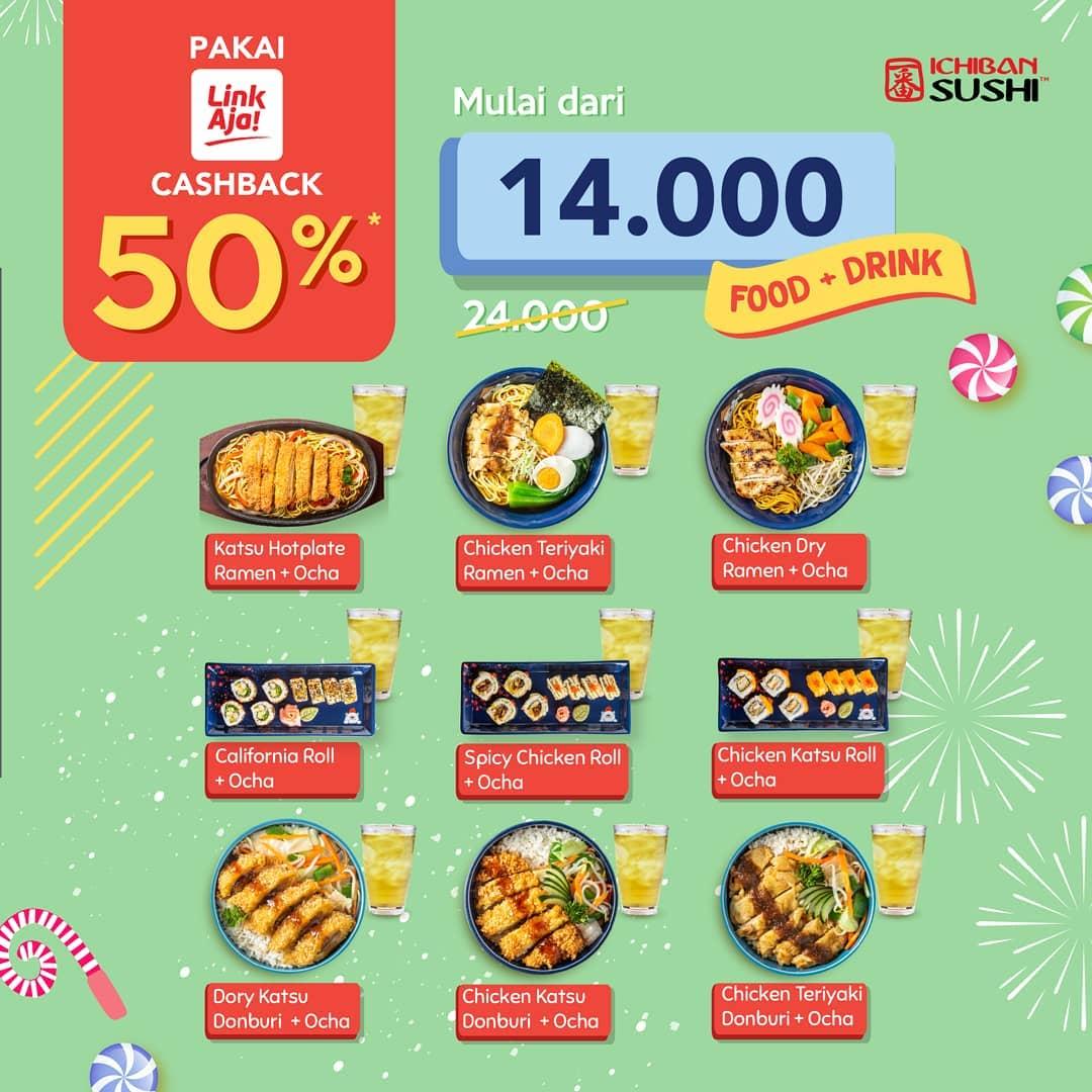 Ichiban Sushi Promo Makan Enak Dan Hemat Cuma Rp. 14 Ribuan, Ini Caranya!