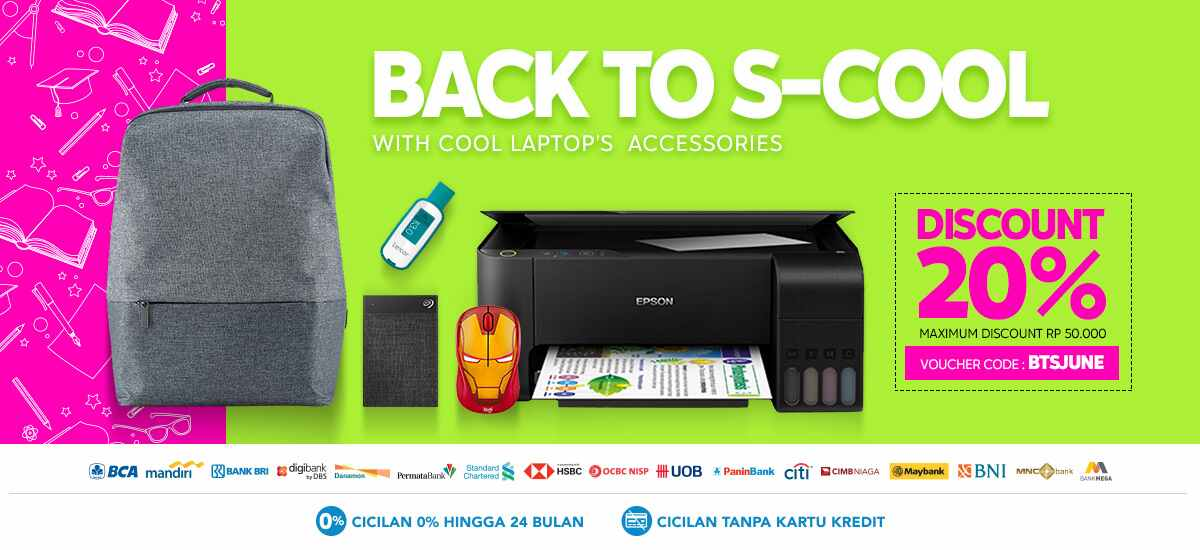 Blibli Promo Back to S-Cool, Diskon Hingga Rp 50.000
