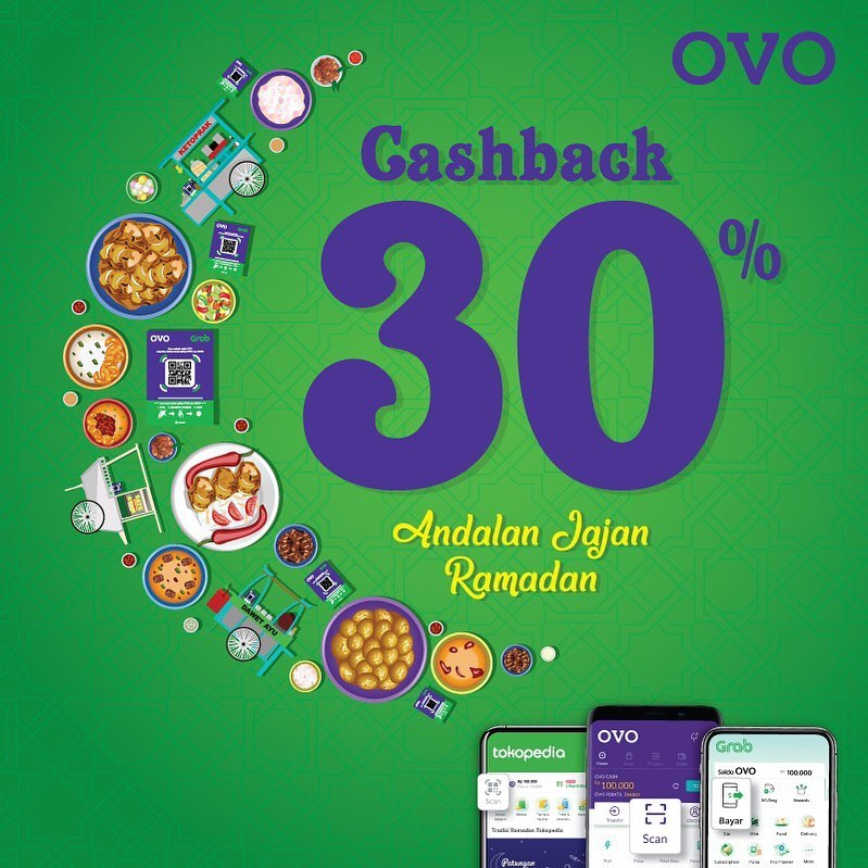 Ovo Promo Spesial Cashback 30% Dengan UMKM!