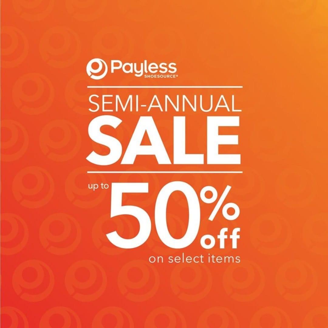 Payless Promo Semi Annual Sale, Diskon Hingga 50%!