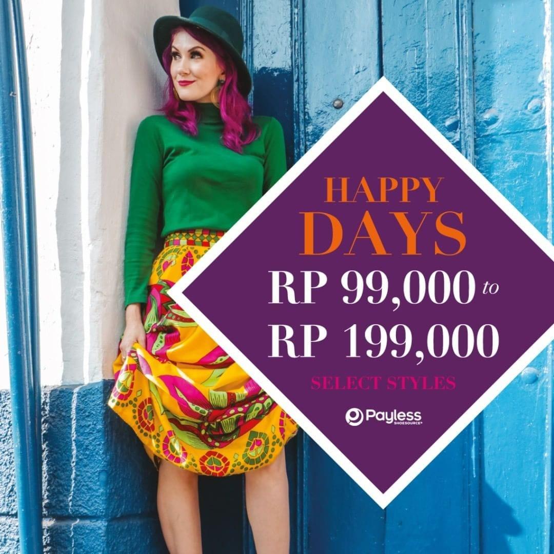 Payless Promo Spesial Kemerdekaan Republik Indonesia Ke 74, Harga Spesial Mulai Rp. 99.000!