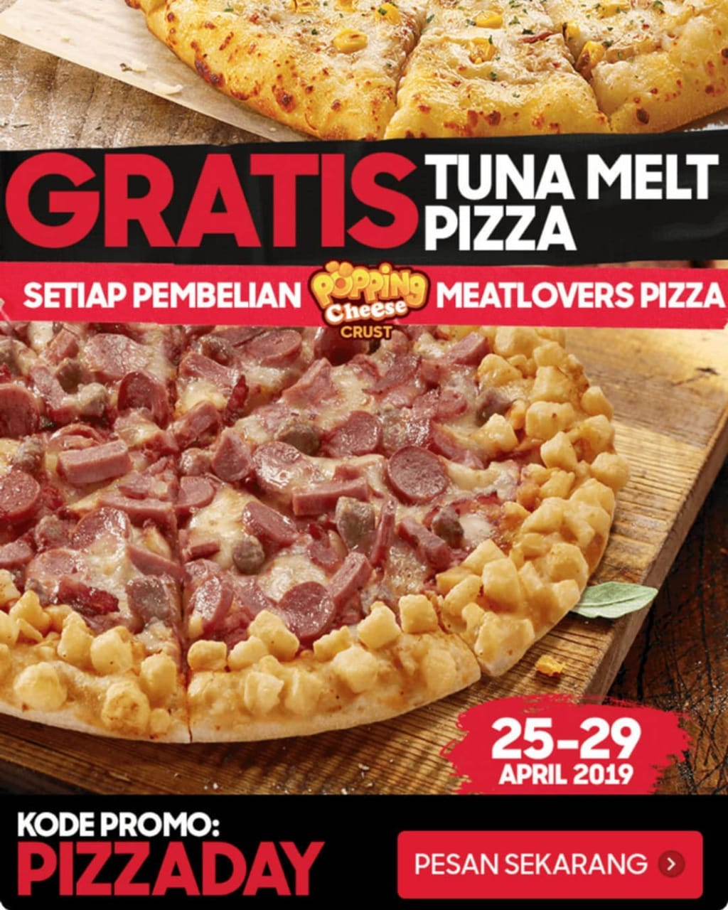 PHD Pizza Hut Delivery Promo Payday! Buy 1 Get 1 Free