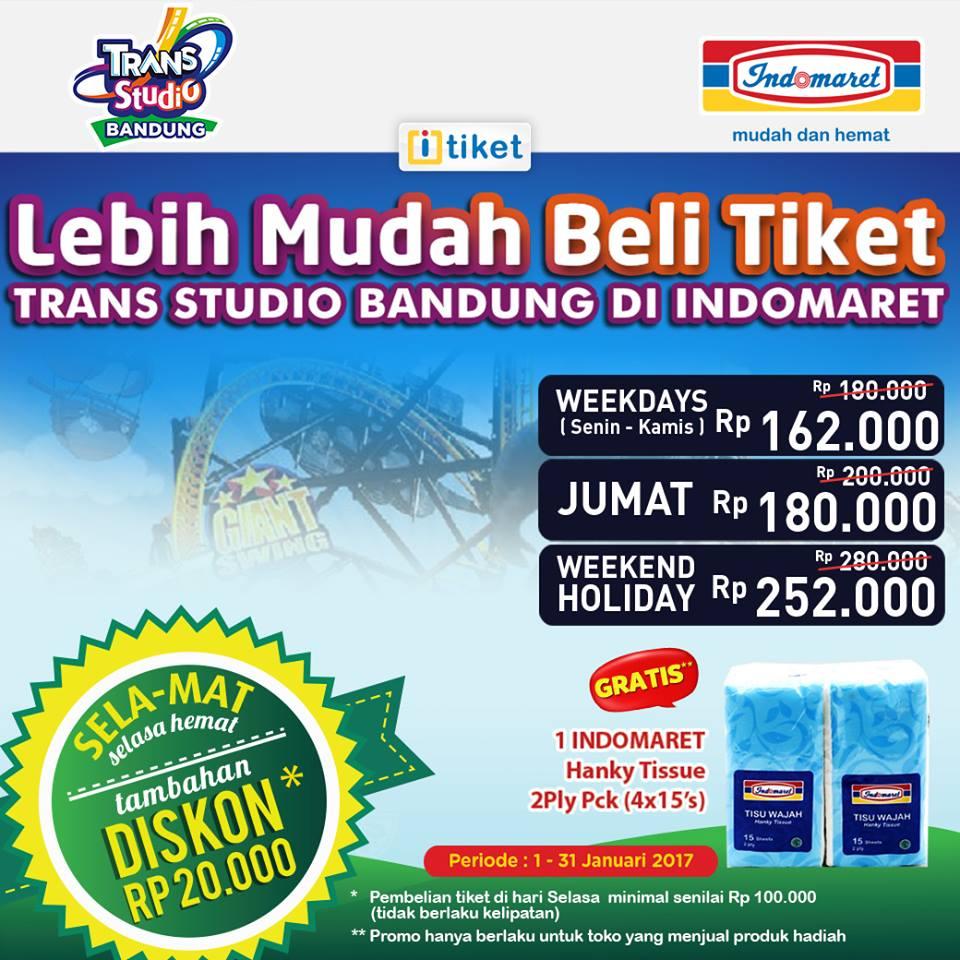 Trans Studio Bandung Promo Heboh Harga Spesial Mulai Rp 162 000
