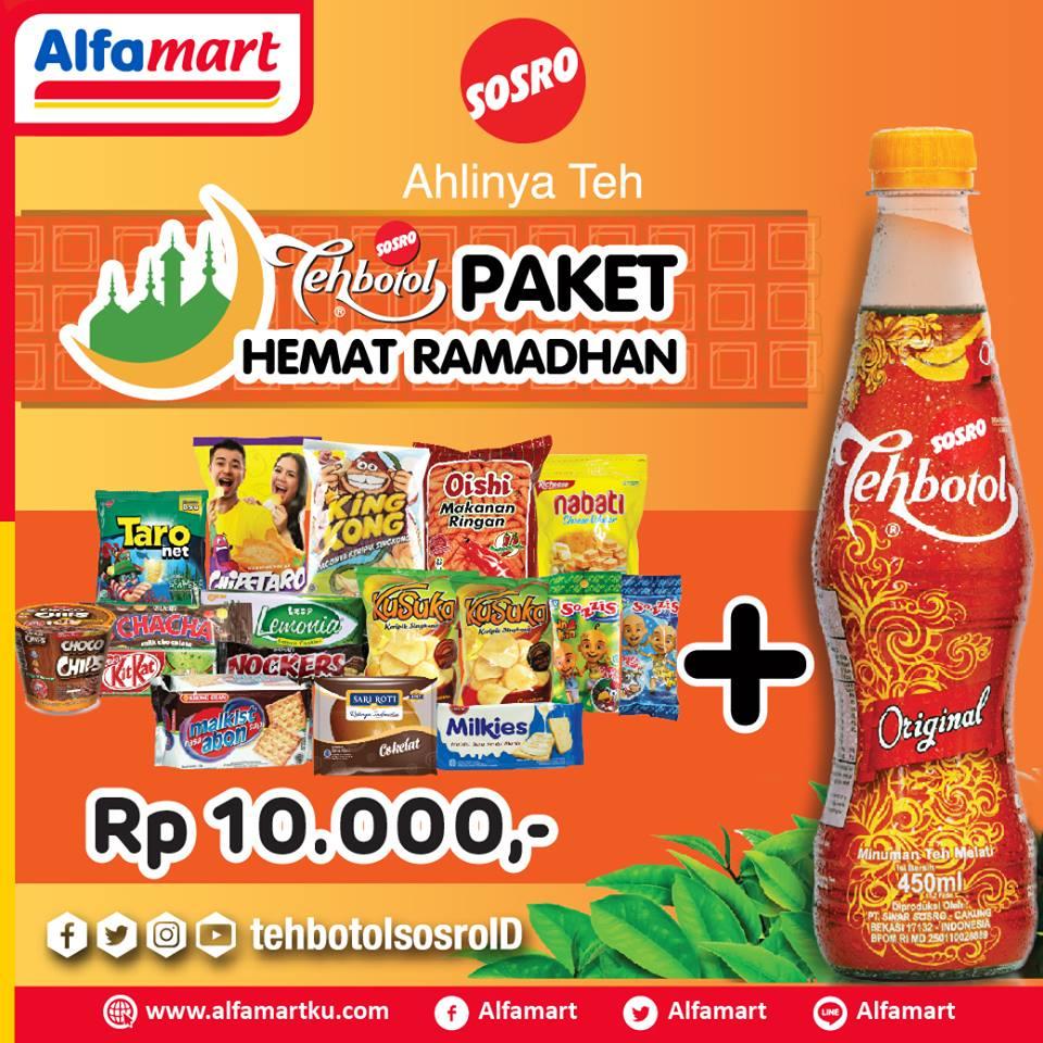 Alfamart Promo Spesial Hemat Lebaran Paket Hemat Cuma Rp 10 000