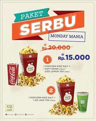 Cinema Xxi Promo Paket Serbu Paket Snack Hemat Cuma Rp 15 000