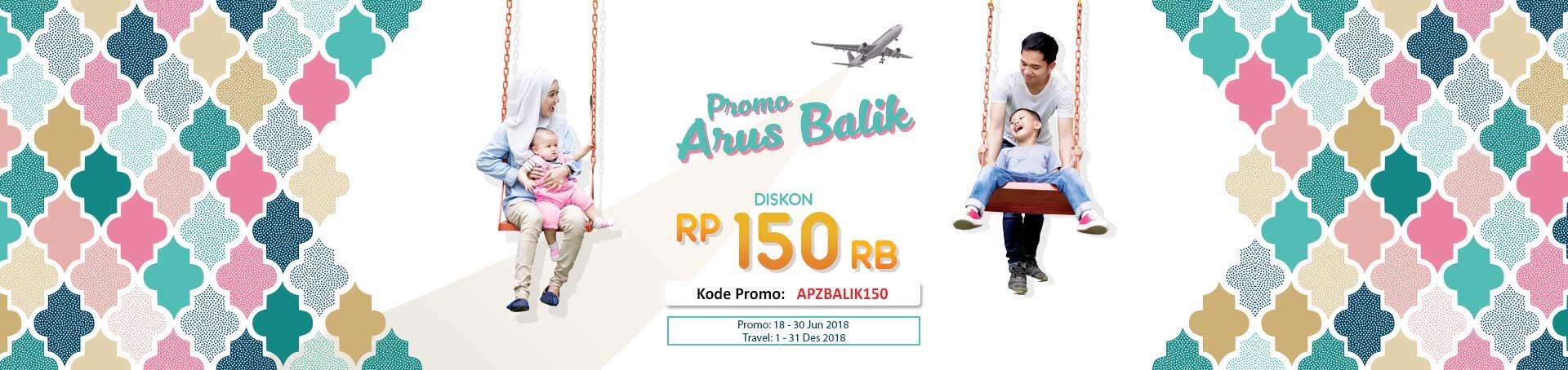 Airpaz Promo Arus Balik Diskon Tiket Pesawat Rp 150 Ribu