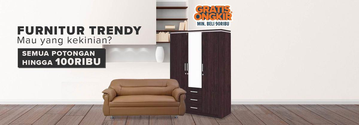 Lazada Promo Furniture Trendy Kekinian Diskon Hingga Rp 100 Ribu