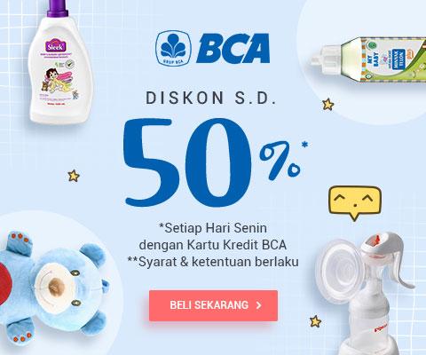Orami by Bilna Promo Belanja Pakai Kartu Kredit BCA, Diskon Hingga 50%