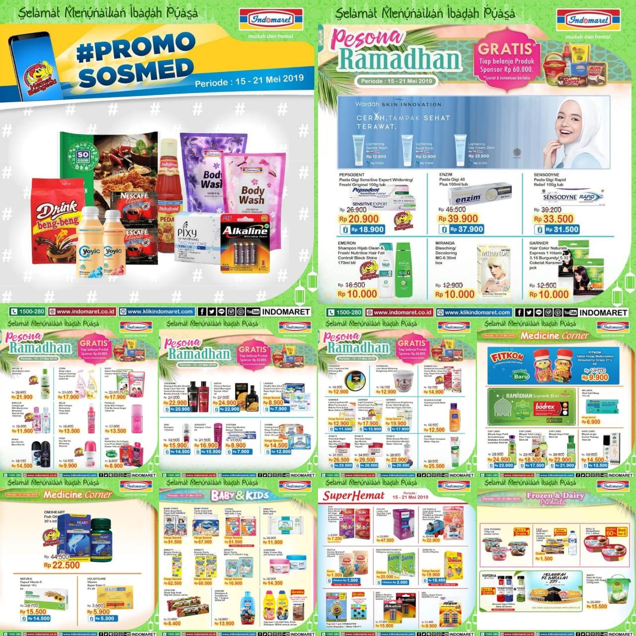 Katalog Promo Hemat Ramadhan Indomaret Periode 15-21 Mei 2019