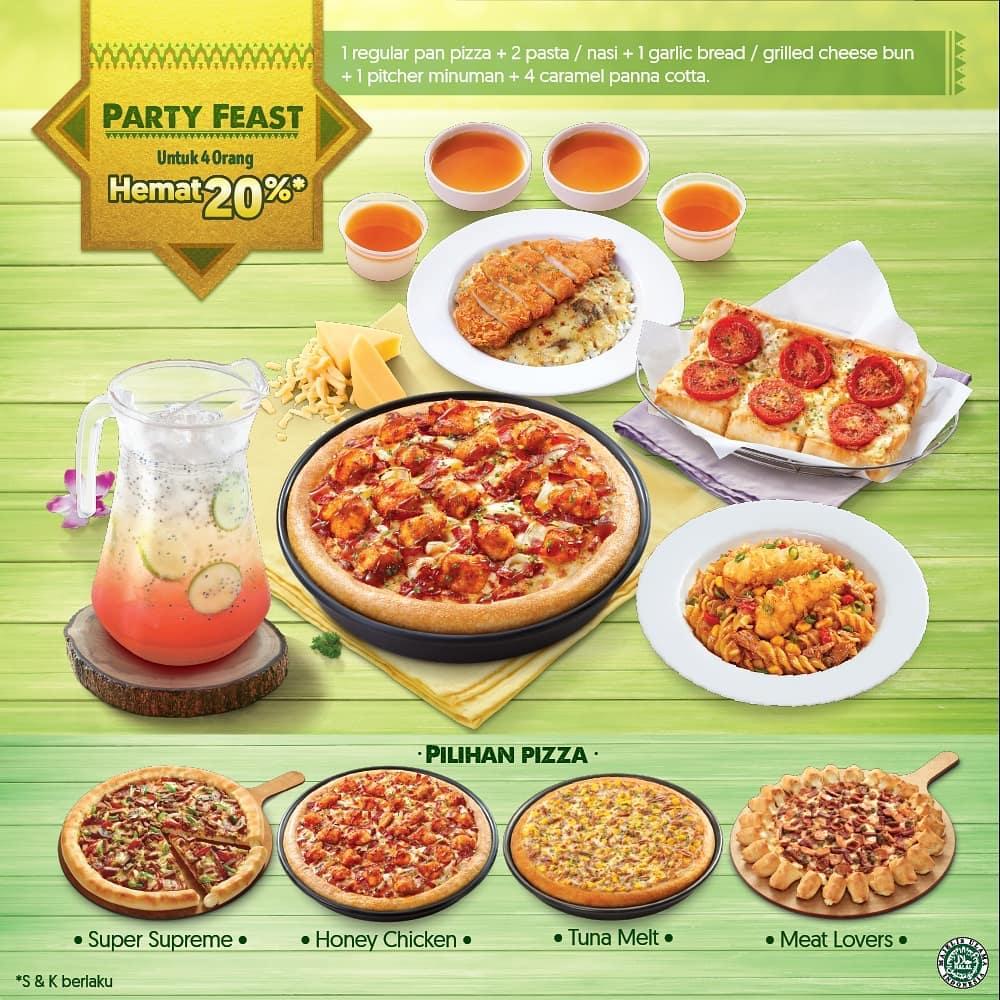 Pizza Hut Promo Party Feast Ramadhan, Diskon 20%