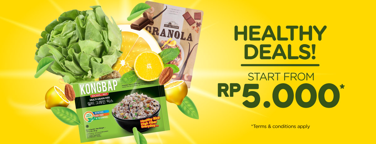Blibli Promo Healthy Deals, Harga Mulai Rp 5.000