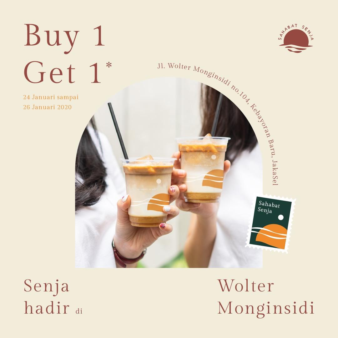 Sahabat Senja Promo Spesial Soft Opening, Beli 1 Gratis 1 Di Wolter Monginsidi