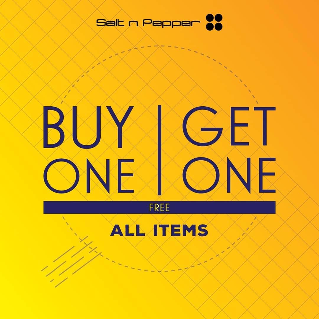 Salt n Pepper Promo Ramadan, Buy 1 Get 1 Free