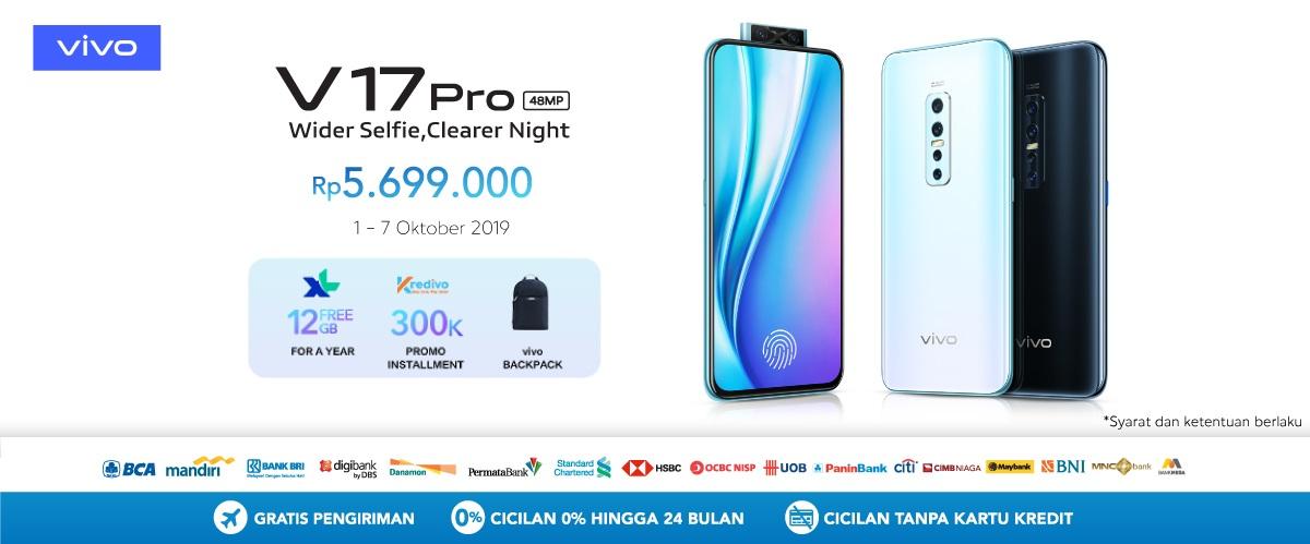 Blibli Promo Vivo V17 Pro, Preorder Sekarang & Dapatkan Harga Spesial!