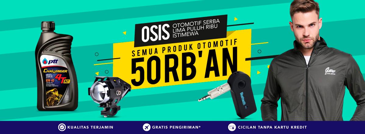 Blibli Promo Otomotif, Serba Rp 50 Ribuan