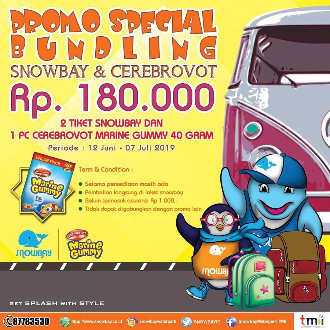 Snowbay Waterpark Promo Paket Hemat Berdua Hanya Rp. 180.000!